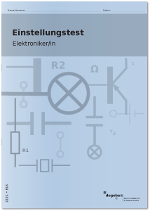 Einstellungstest Elektroniker / Elektronikerin