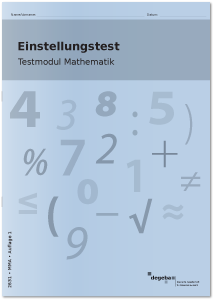 Einstellungstest Testmodul Mathematik